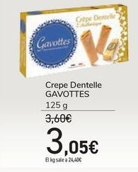 Oferta de Crepe Dentelle GAVOTTES por 3,05€