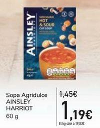 Oferta de Sopa Agridulce AINSLEY HARRIOT por 1,19€