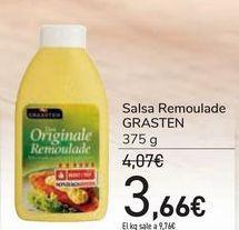 Oferta de Salsa Remoulade GRASTEN por 3,66€
