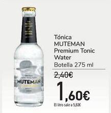 Oferta de Tónica MUTEMAN Premium Tonic Water por 1,6€