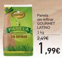 Oferta de Panela sin refinar GOURMET LATINO por 1,99€