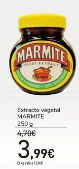 Oferta de Extracto vegetal MARMITE por 3,99€