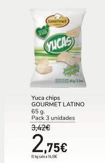 Oferta de Yuca chips GOURMET LATINO por 2,75€