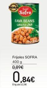 Oferta de Frijoles SOFRA por 0,84€