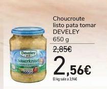 Oferta de Choucroute listo para tomar DEVELEY por 2,56€