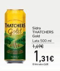Oferta de Sidra THATCHERS Gold por 1,31€