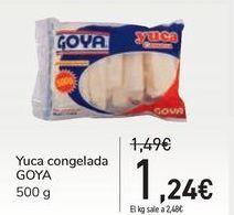 Oferta de Yuca congelada GOYA por 1,24€