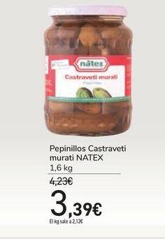 Oferta de Pepinillos Castraveti murati NATEX por 3,39€