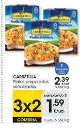 Oferta de Platos preparados Carretilla por 2,39€