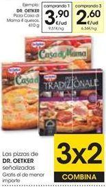 Oferta de Pizza Casa di mama 4 quesos Dr Oetker por 3,9€