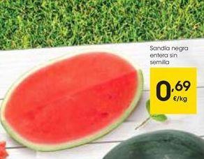 Oferta de Sandía por 0,69€