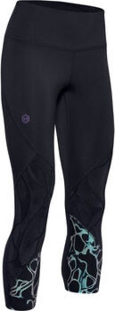 Oferta de Pantalón tobillero UA RUSH™ Vent Iridescent Graphic para mujer por 49€