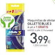Oferta de Maquinilla desechable Gillette por 3,99€