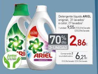 Oferta de Detergente líquido Ariel por 9,55€