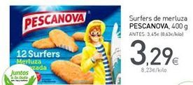 Oferta de Merluza congelada Pescanova por 3,29€