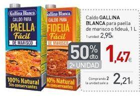 Oferta de Caldo Gallina Blanca por 2,95€