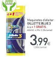 Oferta de Maquinilla Gillette por 3,99€