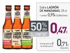 Oferta de Sidra Ladrón de Manzanas por 0,95€