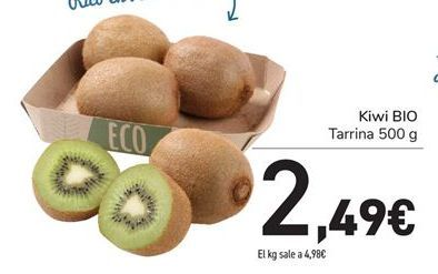 Oferta de Kiwi BIO por 2,49€