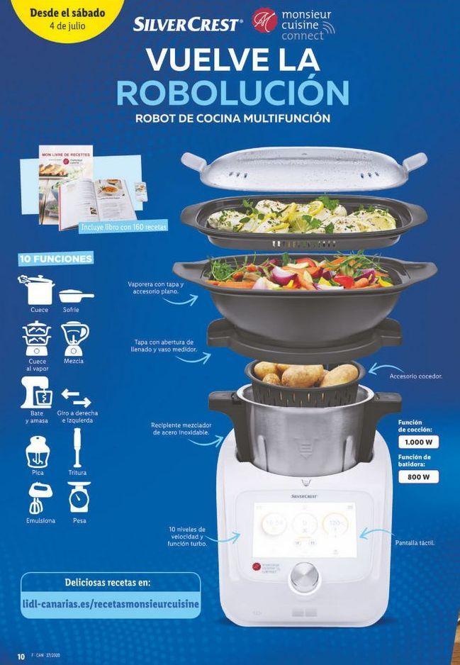 Oferta de Robot de cocina Multifuncion Silvercrest por