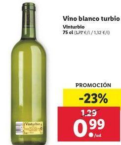 Oferta de Vino blanco turbio Vinturbio por 0,99€