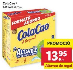 Oferta de Cacao soluble Cola Cao por 13,95€
