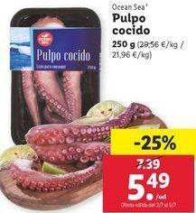 Oferta de Pulpo cocido ocean sea por 5,49€