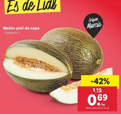 Oferta de Melón piel de Sapo por 0,69€
