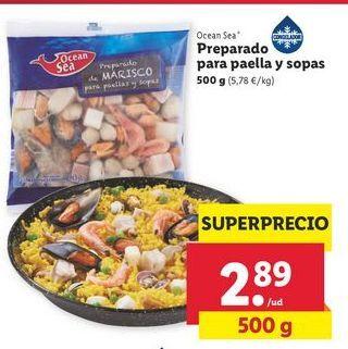 Oferta de Preparado para paella y sopas ocean sea por 2,89€