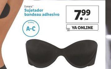 Oferta de Sujetador bandeau Adhesivo esmara por 7,99€