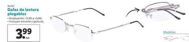 Oferta de Gafas de lectura Auriol por 3,99€