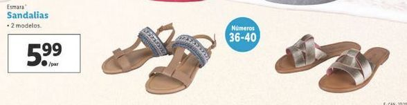 Oferta de Sandalias esmara por 5,99€