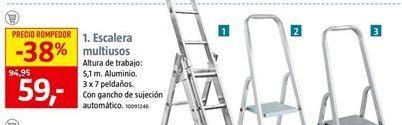 Oferta de Escalera multiusos por 59€