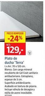 Oferta de Plato de ducha por 129€