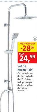 Oferta de Conjunto de ducha por 24,99€