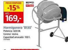 Oferta de Hormigonera por 169€