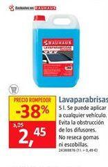 Oferta de Lavaparabrisas por 2,45€