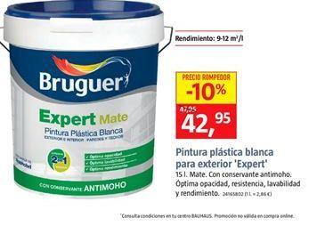Oferta de Pintura plástica blanca Bruguer por 42,95€