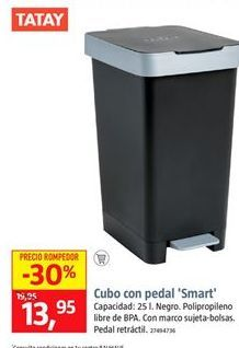 Oferta de Cubo con pedal por 13,95€