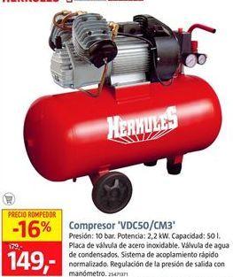 Oferta de Compresor de aire  por 149€