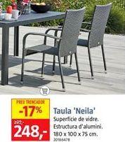 Oferta de Mesa de terraza por 248€