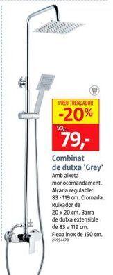 Oferta de Conjunto de ducha por 79€