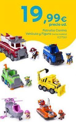 Oferta de Patrulla Canina Vehículo y Figura por 19,99€