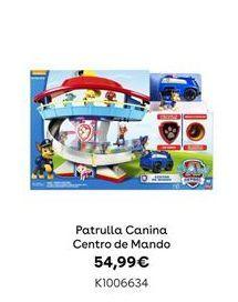 Oferta de Patrulla Canina Centro de Mando por 54,99€