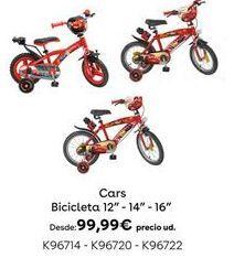 Oferta de Bicicleta Cars por 99,99€