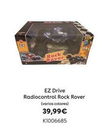 Oferta de EZ Drive Radiocontrol Rock Rover por 39,99€