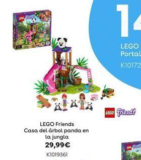 Oferta de LEGO Friends Casa del árbol panda en la jungla por 29,99€
