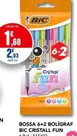 Oferta de Bolígrafos BIC por 1,68€