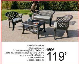 Oferta de Conjunto Veranda por 119€