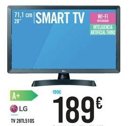 Oferta de TV 28TL510S por 189€